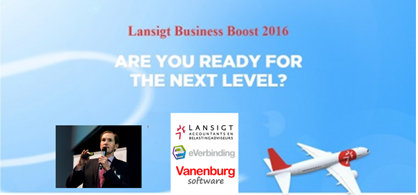 Vanenburg Software inspires entrepreneurs on the Lansigt Business Boost: Become Digital Disruptive!