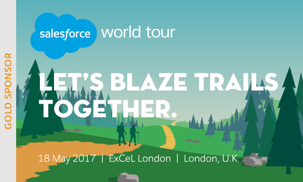 Join us at the Salesforce World Tour in London on May 18th